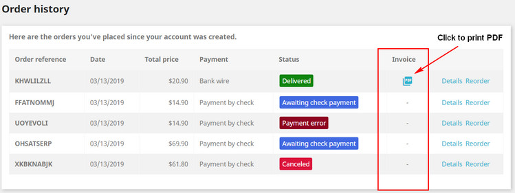 Prestashop help] How to generate, modify Invoice, Delivery, Credit