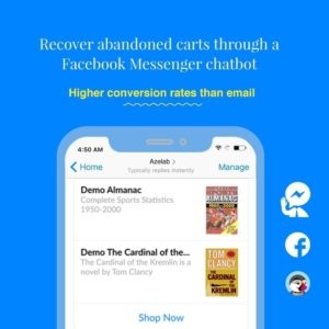 Abandoned Cart Reminder & Messenger Chat Bot Topic - Buy