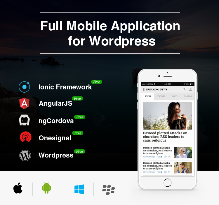 Full-android-ios-mobile-application-for-wordpress-news-blog-breaking