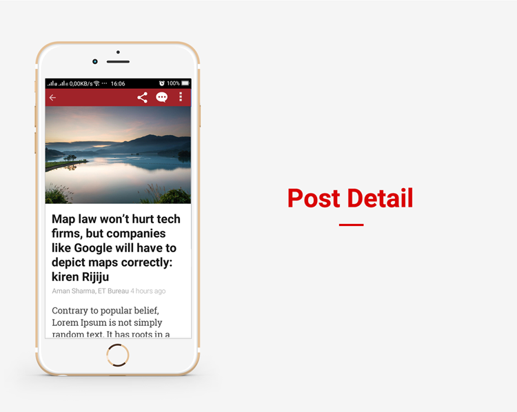 Full Android, iOS Mobile Application for Wordpress News