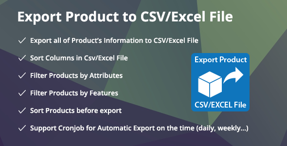 Prestashop Export Product to CSV/Excel File - Prestashop Export