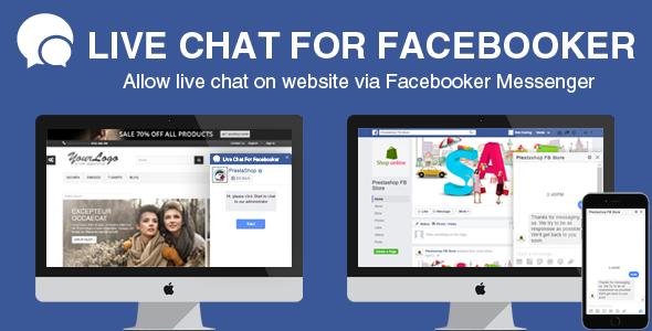 [Free] Prestashop Facebook Live Chat Module