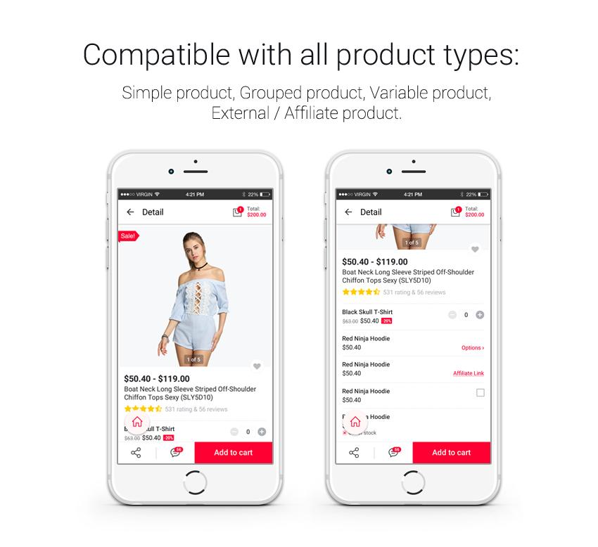 MeetSource - Full Mobile Woocommerce App for Woocommerce Store