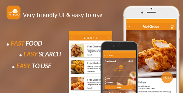 The mobile app design for restaurant order food food for Who can design an app for me
